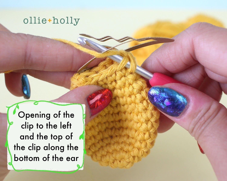 Free Winnie the Pooh Crochet DIY Disney Ears Pattern Step 1