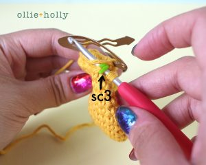 Free Winnie the Pooh Crochet DIY Disney Ears Pattern Step 3