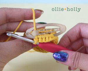 Free Winnie the Pooh Crochet DIY Disney Ears Pattern Step 2