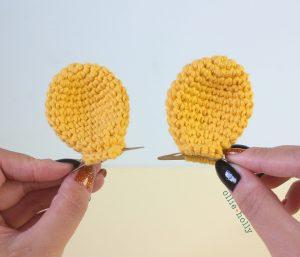 Free Winnie the Pooh Crochet DIY Disney Ears Pattern Single Image