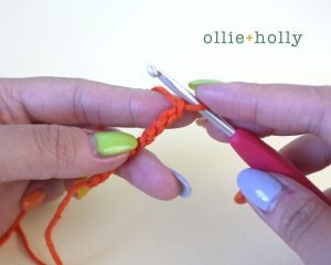 Free Tigger (Winnie the Pooh) Crochet DIY Headband Disney Ears Pattern Step 2