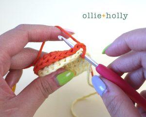 Free Tigger (Winnie the Pooh) Crochet DIY Headband Disney Ears Pattern Step 5