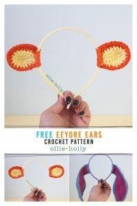 Free Tigger (Winnie the Pooh) Crochet DIY Headband Disney Ears Pattern