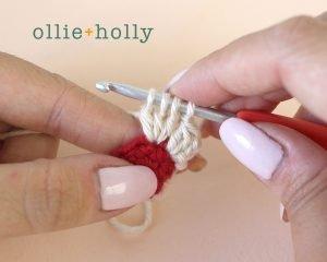 Christmas Holiday Amigurumi Crochet Ornament Decoration 3dc-bobble Instructions