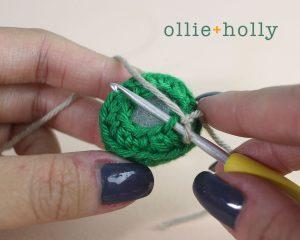 Free Vintage Camping Lantern Amigurumi Crochet Christmas Ornament Pattern Step 3