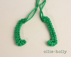 Free Vintage Camping Lantern Amigurumi Crochet Christmas Ornament Pattern Step 7