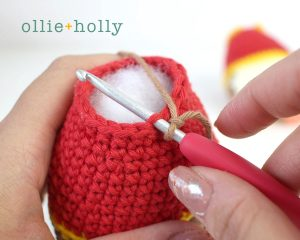 Free Year of the Ox Chinese Lunar New Year Amigurumi Crochet Pattern Step 14