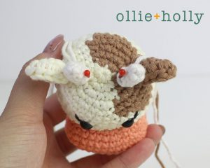 Free Year of the Ox Chinese Lunar New Year Amigurumi Crochet Pattern Step 17