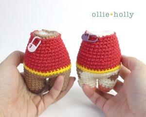 Free Year of the Ox Chinese Lunar New Year Amigurumi Crochet Pattern Step 15