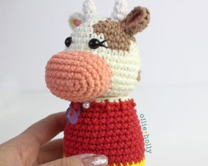 Free Year of the Ox Chinese Lunar New Year Amigurumi Crochet Pattern Step 18