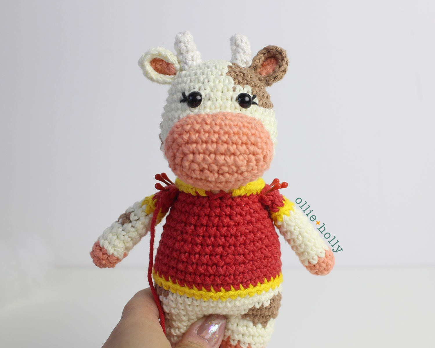 Free Year of the Ox Chinese Lunar New Year Amigurumi Crochet Pattern Step 20