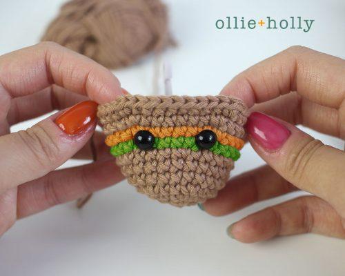 Free Bernadette the Bear Stuffed Animal Amigurumi Crochet Pattern Step 7