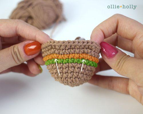 Free Bernadette the Bear Stuffed Animal Amigurumi Crochet Pattern Step 6
