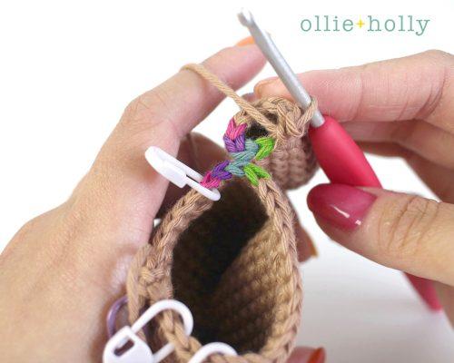 Free Bernadette the Bear Stuffed Animal Amigurumi Crochet Pattern Step 15