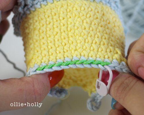 Free Bernadette the Bear Stuffed Animal Amigurumi Crochet Pattern Step 26