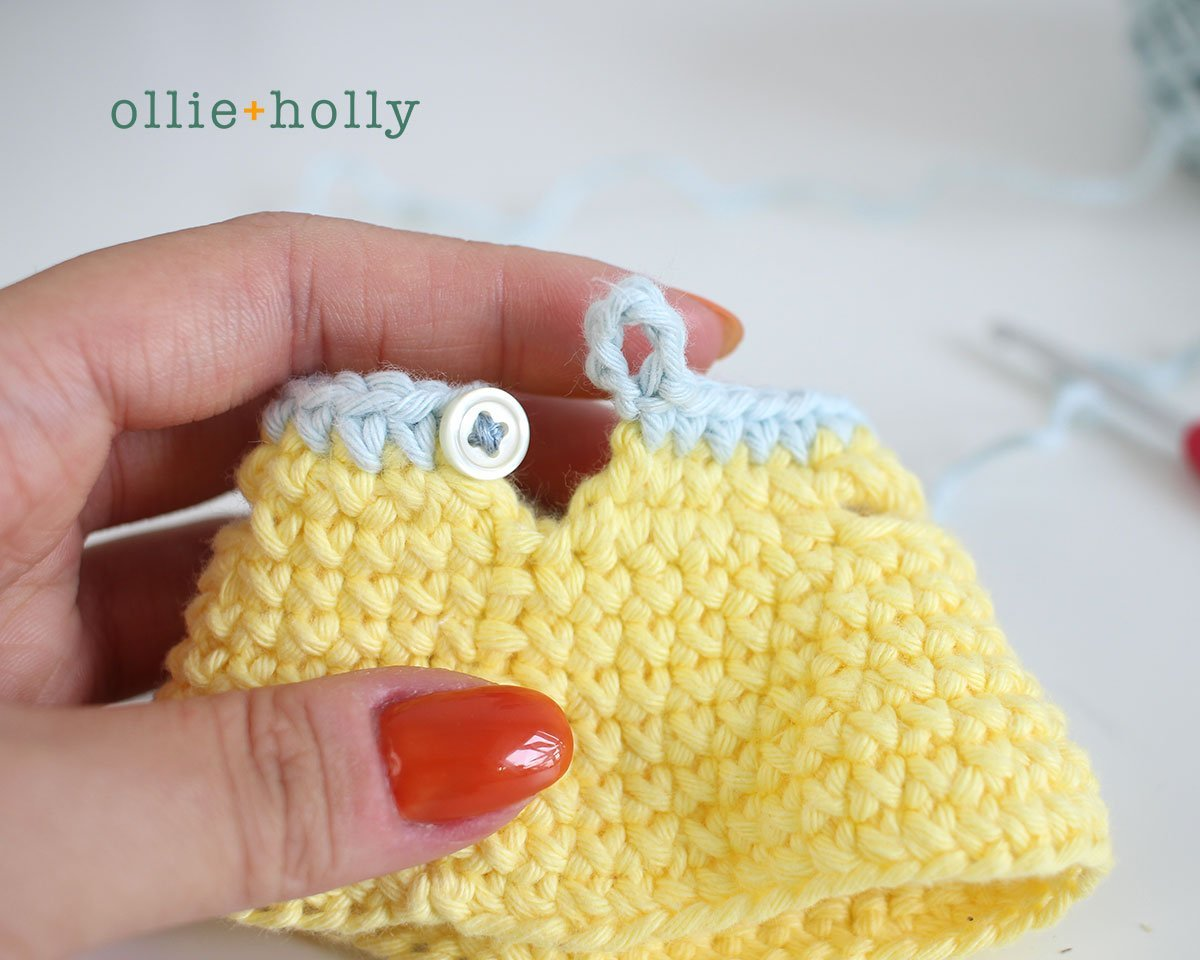 Free Bernadette the Bear Stuffed Animal Amigurumi Crochet Pattern Step 24