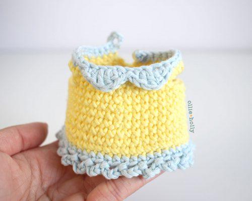 Free Bernadette the Bear Stuffed Animal Amigurumi Crochet Pattern Step 27