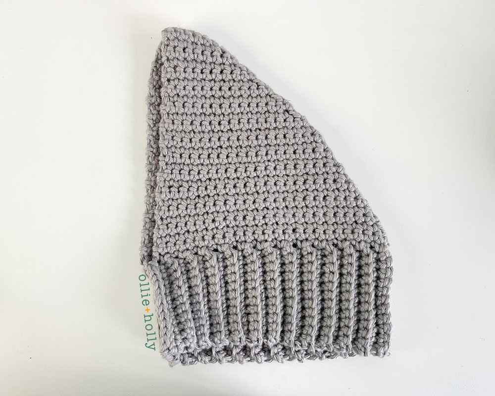 How To Crochet A Basic Dog Snood Pattern Step 4