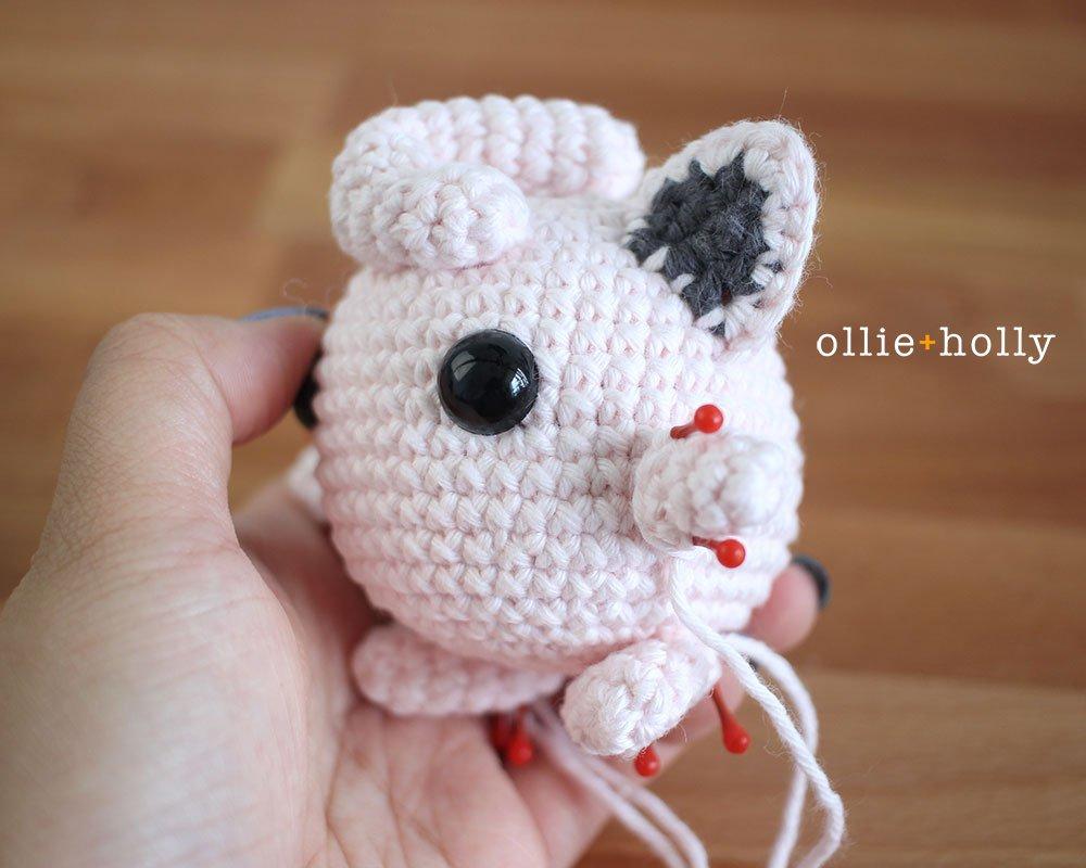 Free Jigglypuff Amigurumi Crochet Pattern Step 10