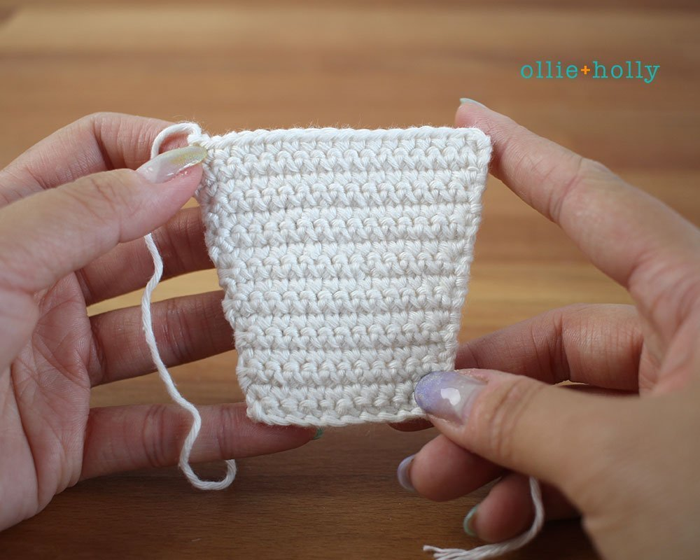 Free Ketchup Bottle Amigurumi Crochet Plushie Pattern Step 3