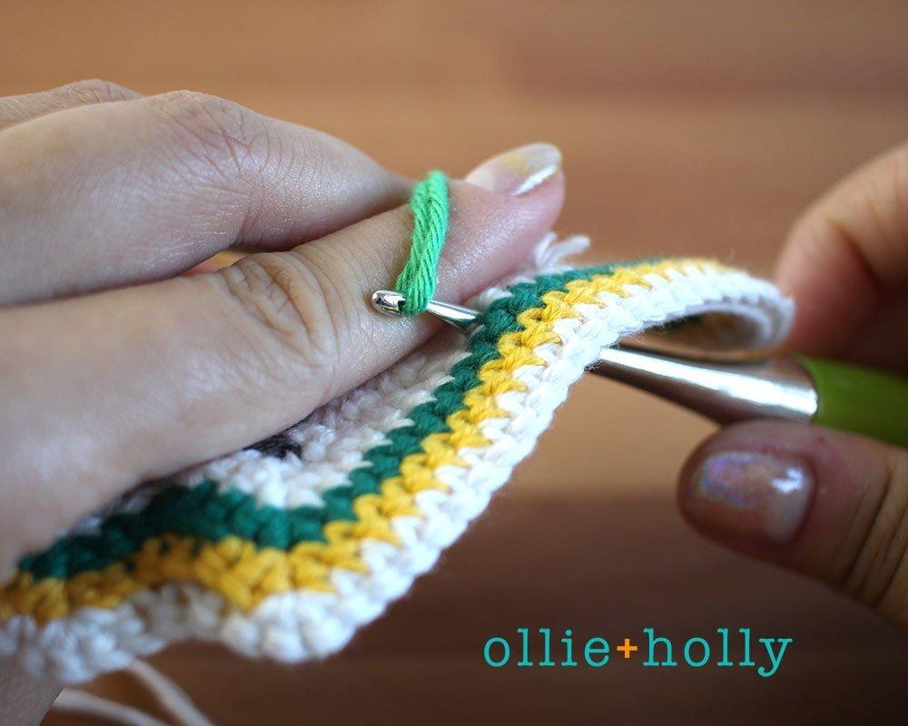 Free Ketchup Bottle Pillow Amigurumi Crochet Pattern Step 7