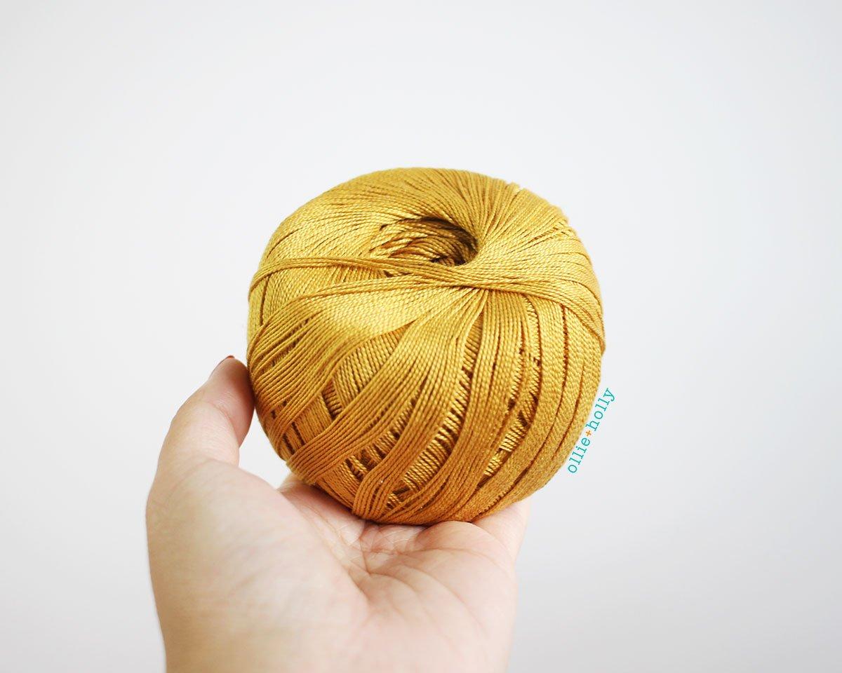 WeCrochet Curio #10 - My Favourite Thread - What I Use to Make Amigurumi