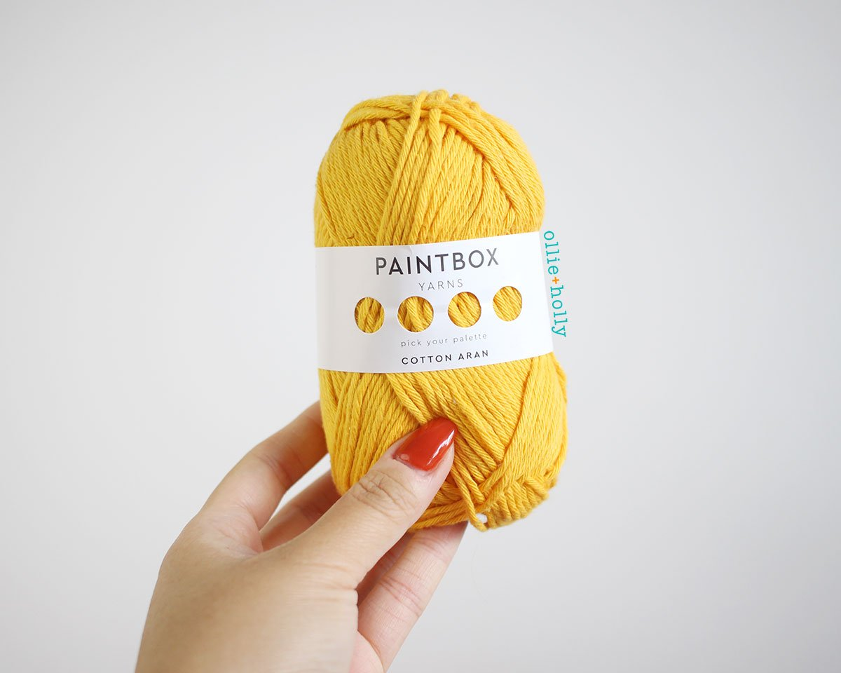 Paintbox Yarns Cotton Aran - My Favourite Yarn - What I Use to Make Amigurumi