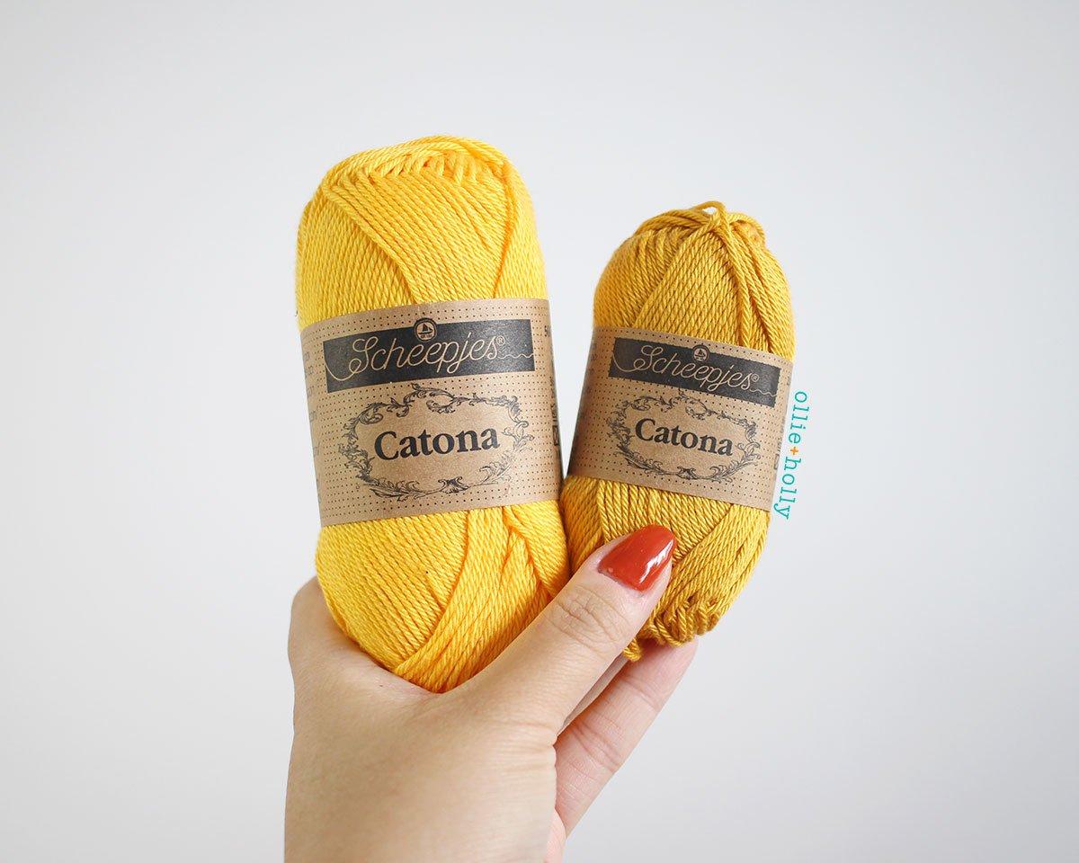 Scheepjes Catona Yarn - My Favourite Yarn- What I Use to Make Amigurumi
