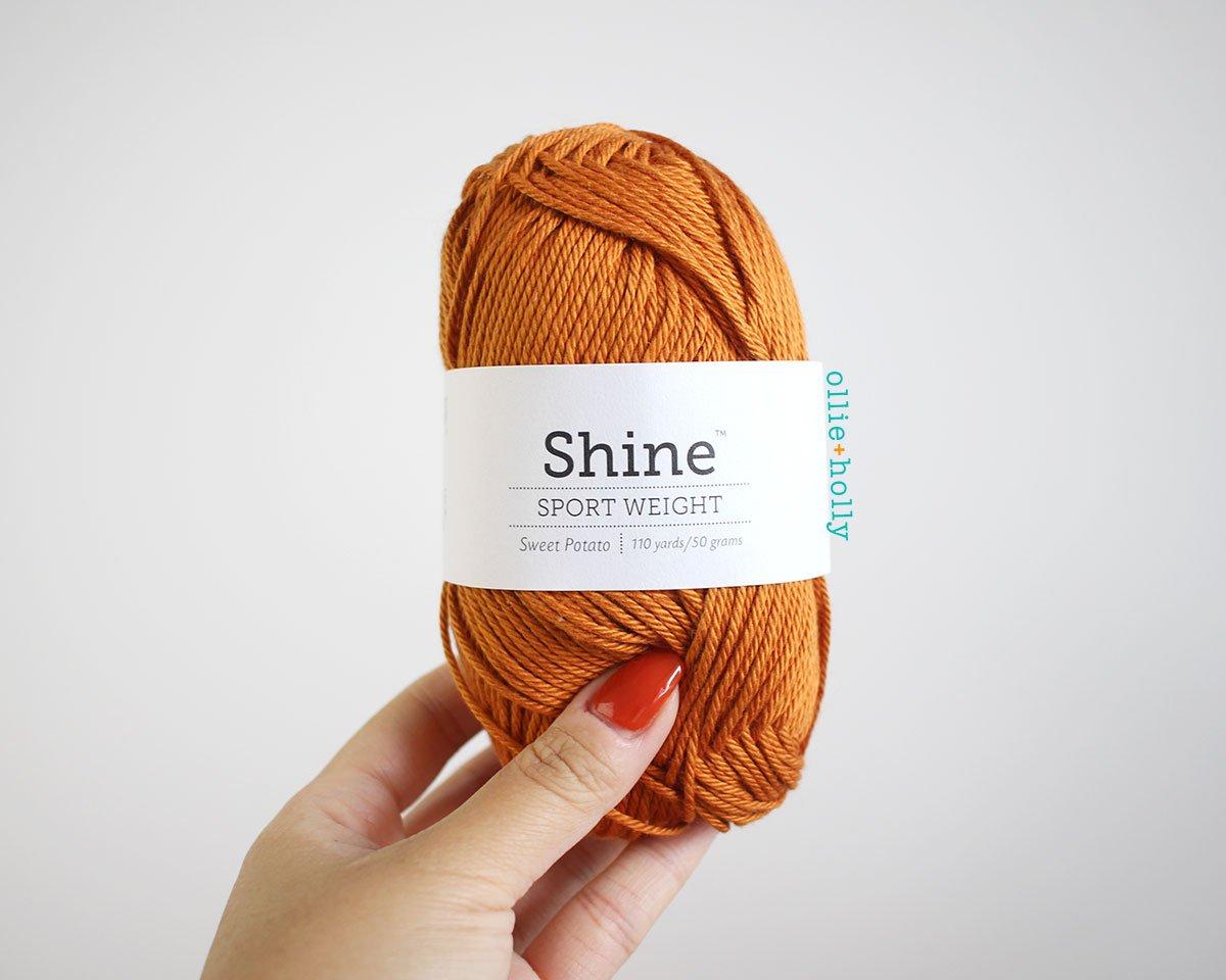 WeCrochet Shine Sport Yarn - My Favourite Yarn - What I Use to Make Amigurumi